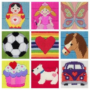 Anchor-1st-Long-Stitch-Tapestry-Kit-Ideals-Beginners-Kids-Children-039-s-Craft