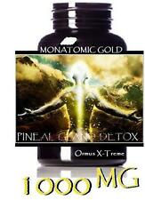 1000 mg monatomic gold ormuc white gold pineal gland detox formula DE-calcify