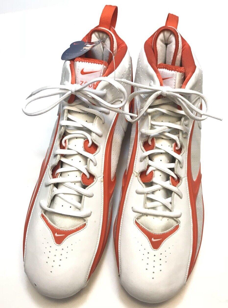 Nike Zoom Air cleats Blade II D Football cleats Air 17 blanco naranja 310936-181 nueva reducción de precios estacionales de recortes de precios, beneficios de descuentos 443442