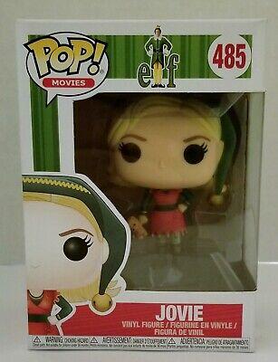 Movies Elf Jovie #485 Vinyl Figure WITH PROTECTOR! Funko Pop