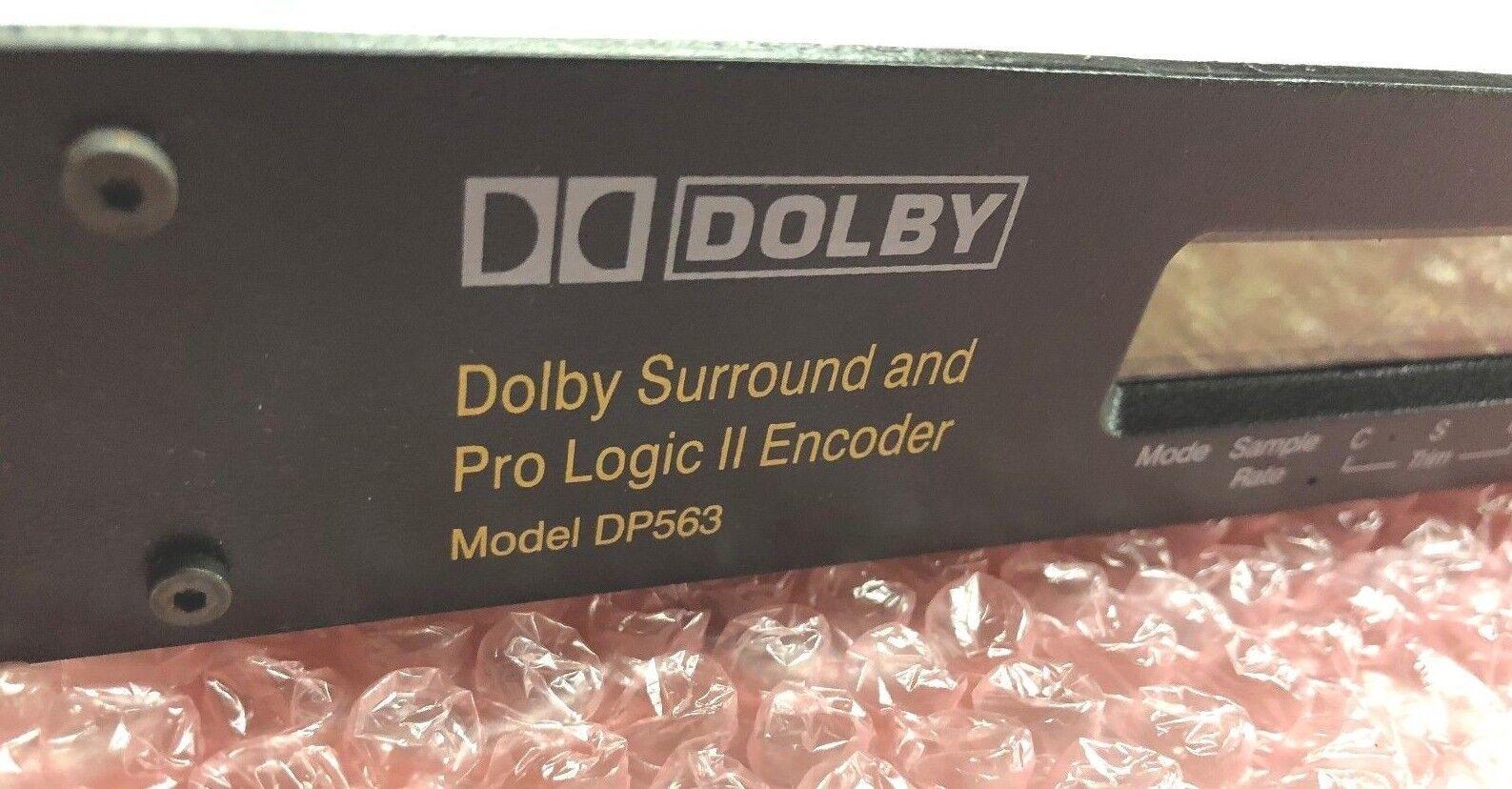 Dolby DP563 Surround und ProLogic II Encoder