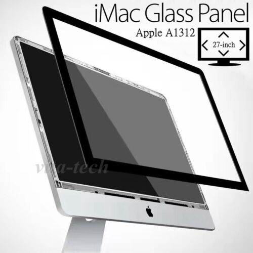 """NEW APPLE OEM IMAC 27in 27"""" LCD GLASS FRONT SCREEN PANEL 2009 2010 2011"""
