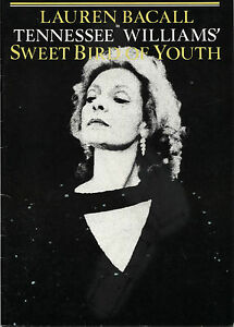 Sweet-Bird-of-Youth-Lauren-Bacall-1985-Theatre-Royal-Haymarket-Programme