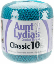 """Set Of 3/"""" /""""Aunt Lydia/'s Classic Crochet Thread Size 10-Hot Pink"""
