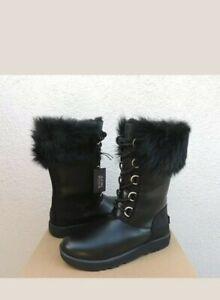 Ugg Aya Leather Waterproof Winter Boots