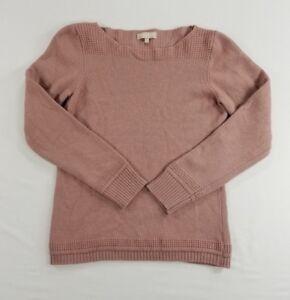 Benedetta-B-Wool-Cashmere-Blend-Womens-Knit-Top-Sweater-Shirt-Blouse-sz-M-L