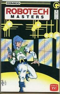 ROBOTECH-MASTERS-12-VF-NM-Mike-Baron-Comico-1985-1986-more-Indies-in-store