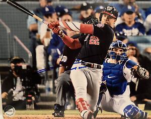 Juan Soto Hand Signed Autographed 8x10 Photo Washington Nationals Baseball w/COA