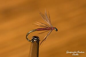 Woodcock & Red Spider, Soft Hackle Wet Fly, Quantity 3