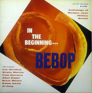 CD-BEBOP-in-the-beginning-Japan-Import