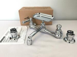 * American Standard Heritage Utility Faucet Chrome 2-handle 7295152.002 NEW