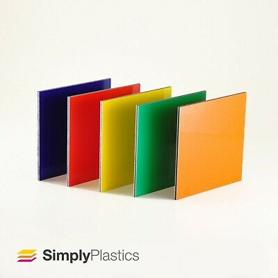 A5 A4 A3 Multi-packs 3mm Alupanel® Orange Aluminium Composite Dibond Sheet