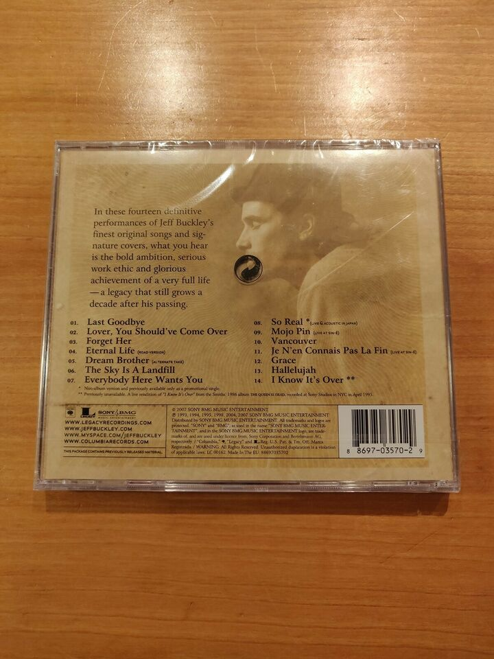 Jeff Buckley: So Real: Songs From Jeff Buckley, rock