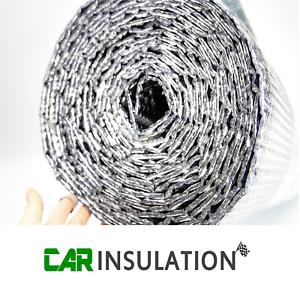 1m x 10m Double Bubble Foil 6mm Thermal Insulation Camper Van Conversion Vapour