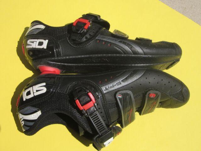 43.5 EU Sidi Alba Carbon LE Road Cycling Bicycle Shoes Matte Red Size 9.5 US