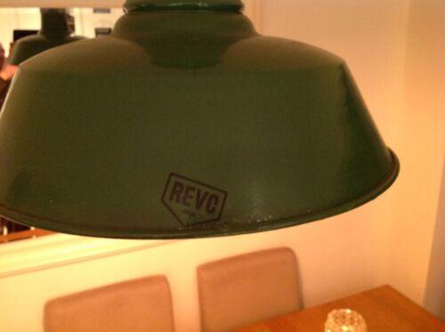 "Vintage Revo extremely rare 18/"" diameter period light."