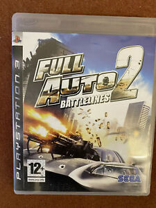 Full Auto 2 Battlelines Playstation 3 Free Uk Post Ebay