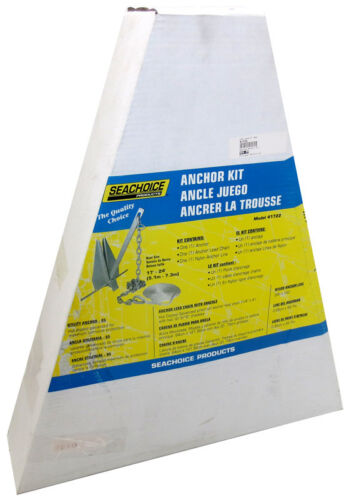 Hot-Dipped Galvanized Boat Lengths 17/' to 24/' SeaChoice Anchor Kit 41722