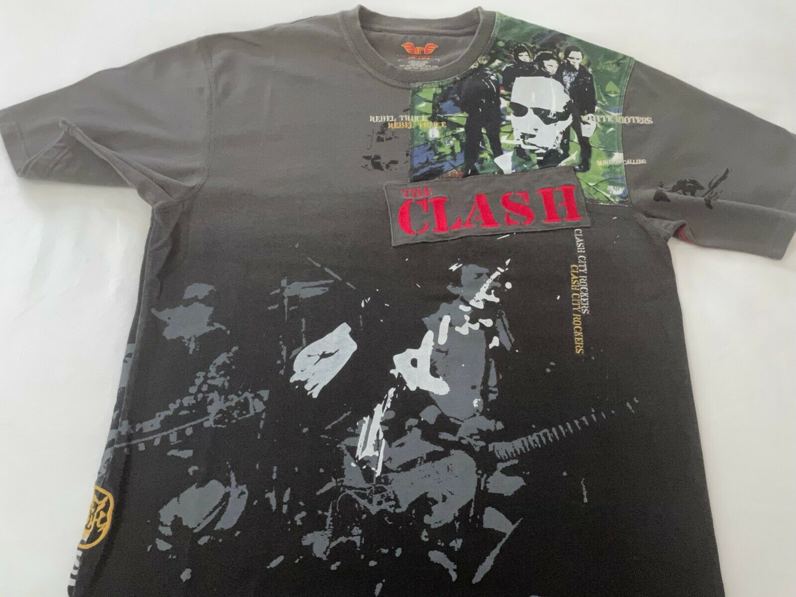 The Clash T-Shirt  by Ringspun Allstars Rare UK V… - image 1