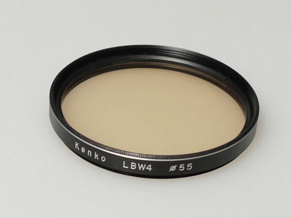 (prl) Kenko Lbw4 55 Mm Filtro Filter Filtru Filtre Filtar Photo Fotocamera Design Moderne