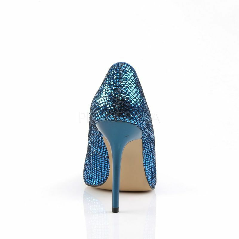 PLEASER CLASSIQUE - 20 pump blu mica classico Party Party Party Gogo Cyber Cosplay Punk. | Special Compro  | Uomini/Donna Scarpa  69aa46