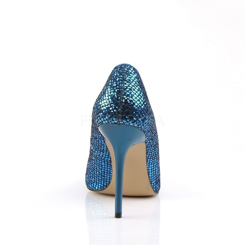 PLEASER CLASSIQUE - 20 pump blu mica classico Party Party Party Gogo Cyber Cosplay Punk. | Special Compro
