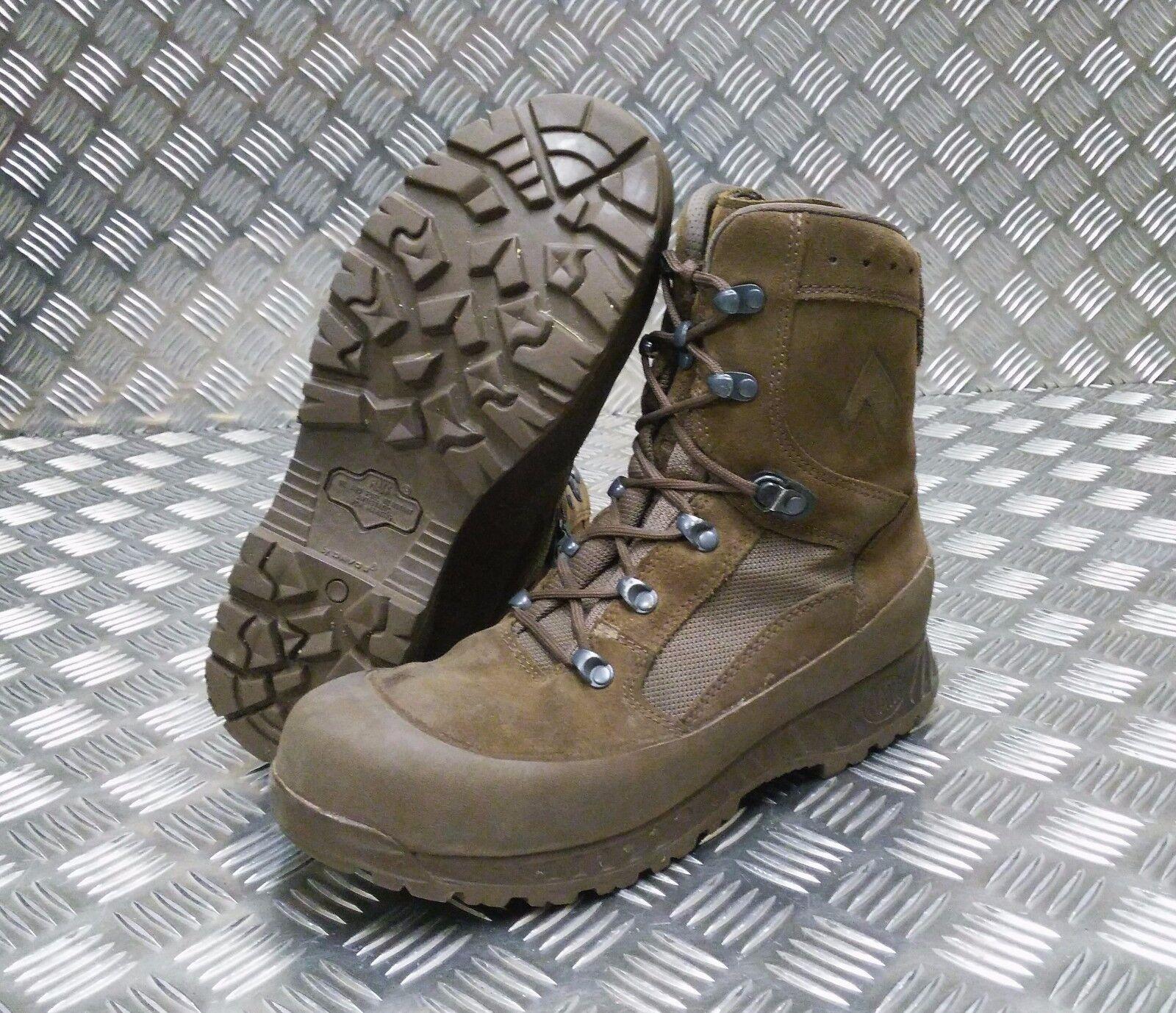 Original British Army Haix Wüste Wildleder Assault   Patrol Combat Stiefel
