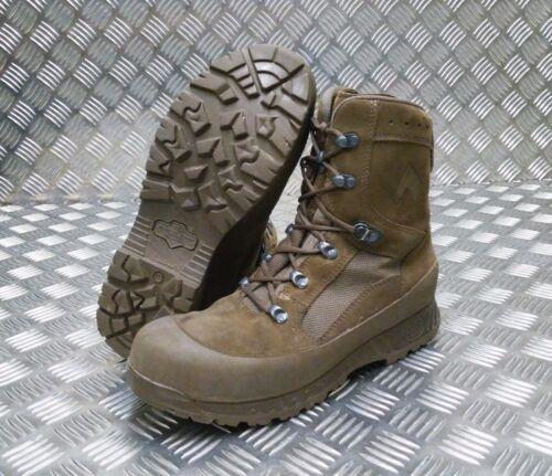 in scamosciata pelle Stivali da del deserto combattimento pelle in vera d'assalto britannico pattuglia dell'esercito qTaR4