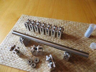 Small Shaft Inspection Blocks V-Block Spine Tester Blk Roller Bearing V-Block