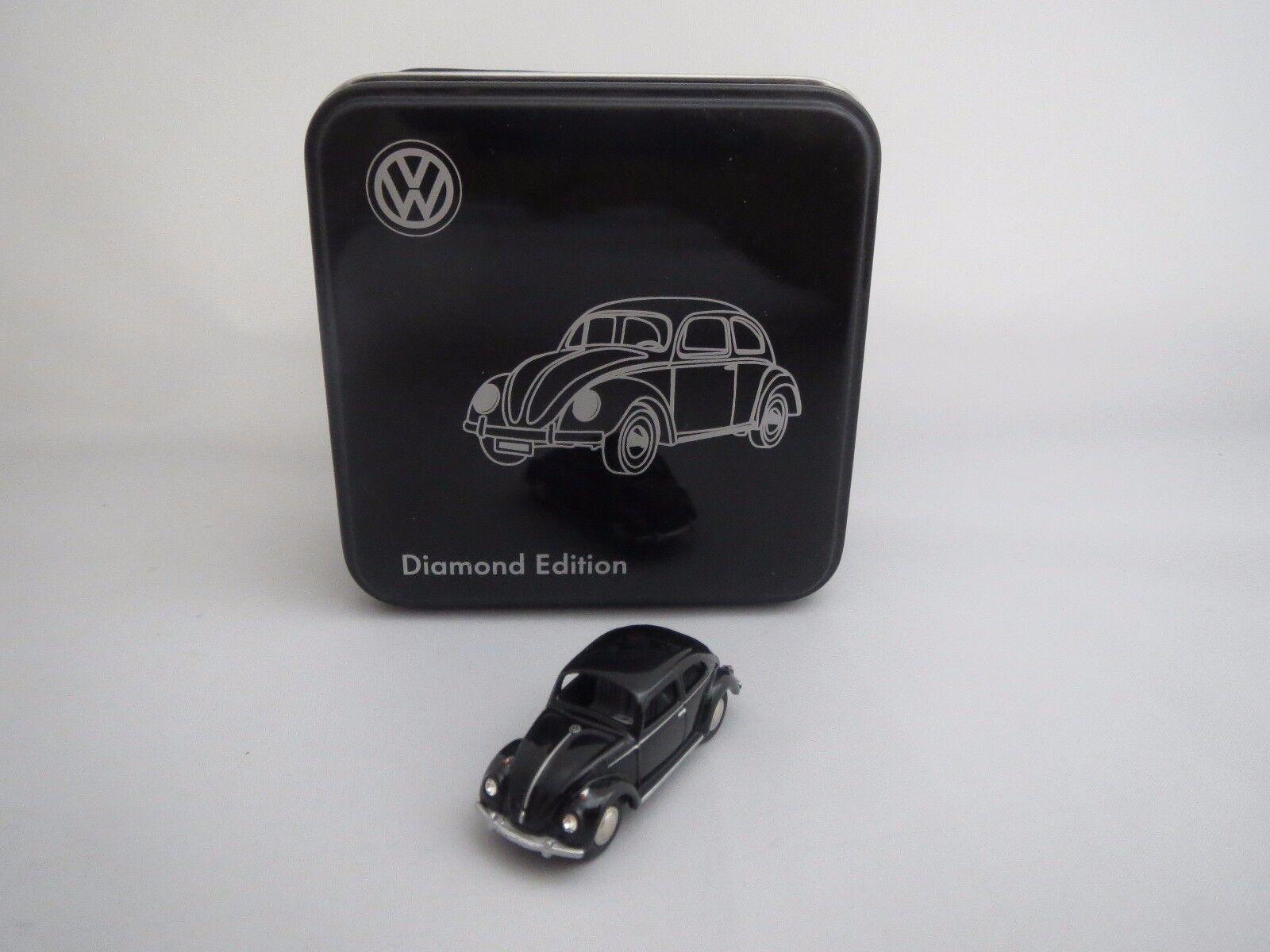 Bub Diamond Diamond Diamond Edition  2011  volkswagen escarabajo (negro) 1 87 embalaje original  816bf0