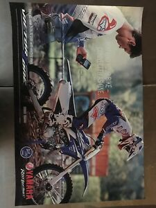 VINTAGE-OEM-YAMAHA-DEALER-SHOWROOM-WALL-POSTER-2018-YZ450F-YZ-450-F-24x36