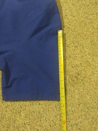 LANDAU Scrub Medical Nursing Uniform Size XLG Blue Short Sleeve Pockets