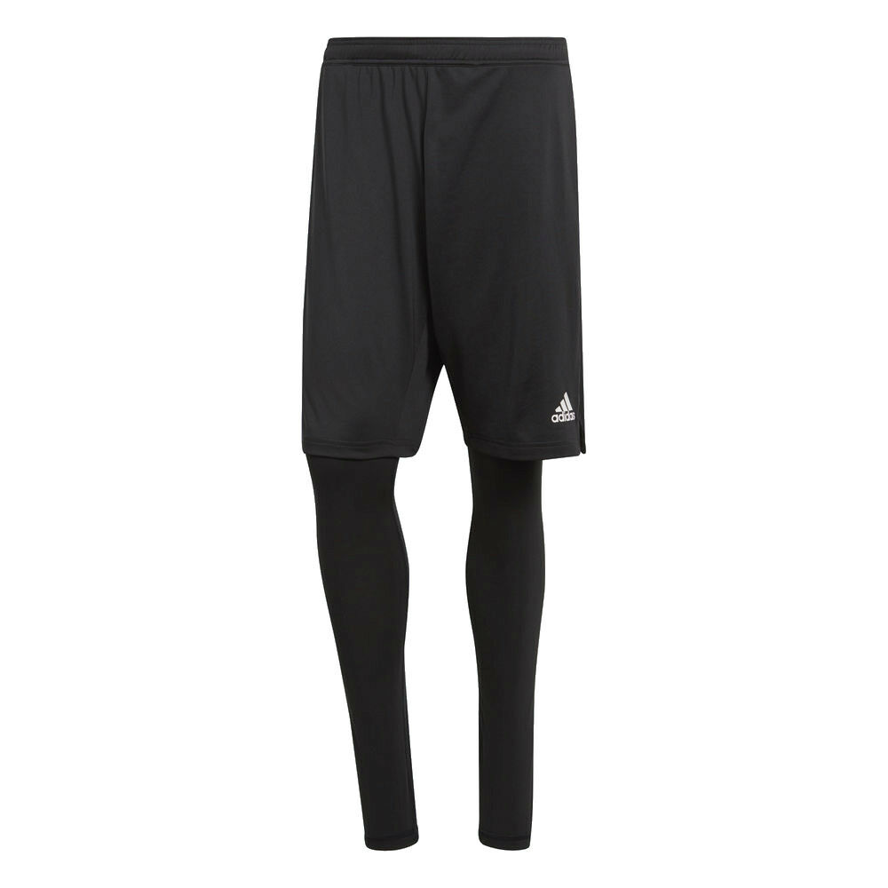 Adidas uomini Condivo 18 sport Footbtutti Soccer TwoinOne Shorts with Tights Blac