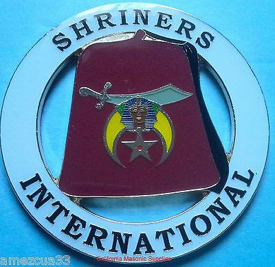 Shriners International Car Emblem