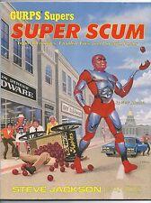 GURPS Supers: Super Scum (1989) Steve Jackson Games