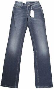 36 L34 Angela Blau Super Damen Pantaloni Mac Hose Jeans Slim jeans Fit Donna T7580