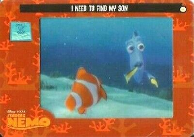 FINDING NEMO  FILMCARDZ  BASE// BASIC CARDS    CHOOSE BY ARTBOX 2002 001 TO 072