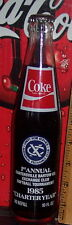 1985 EXCHANGE CLUB 1ST ANNUAL SOFTBALL TOURNAMENT  10 OUNCE COCA COLA BOTTLE
