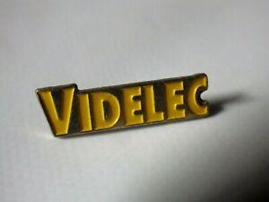 Pin-S-Vintage-Coleccionista-Pins-de-Solapa-Publicidad-Videlec-Video-Lote-A004