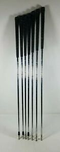 Lot-of-7-True-Temper-Dynamic-Gold-Iron-Shafts-Steel-S300-See-Description