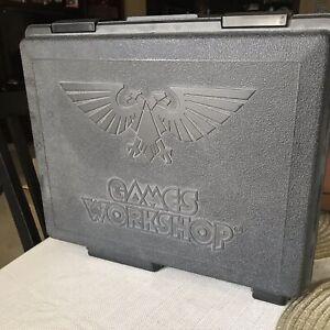 Details about Games Workshop case & plastic figures Warhammer - Lot of 34  1992