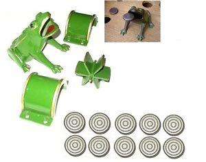 Piezas de fundicion para juego de la rana