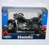 Welly - Honda F6c (black) - Motorbike Model Scale 1:18