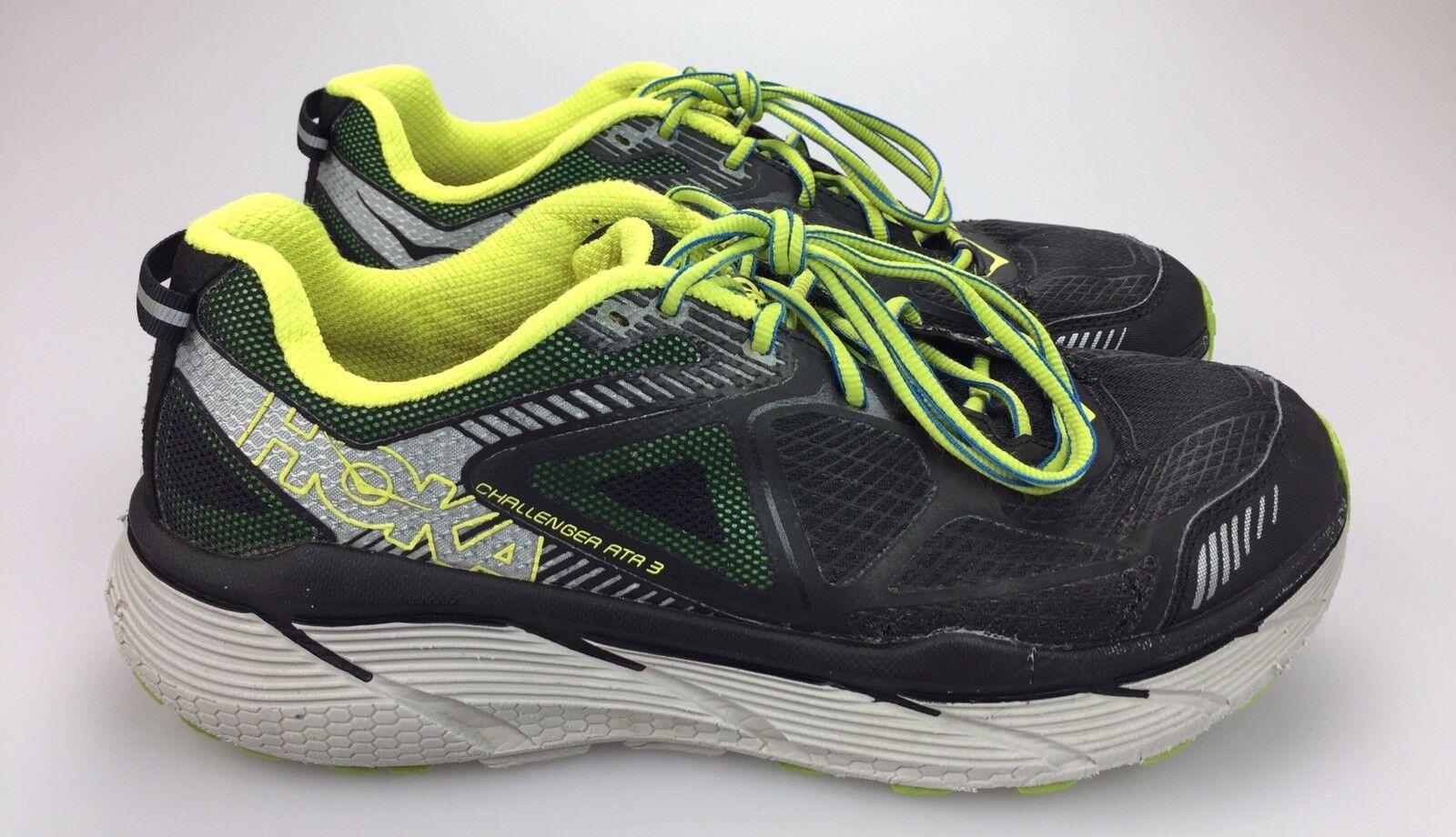 Hoka ONE Challenger ATR 3 Black Citrus Mens 10 US 44 EU Trail Running shoes