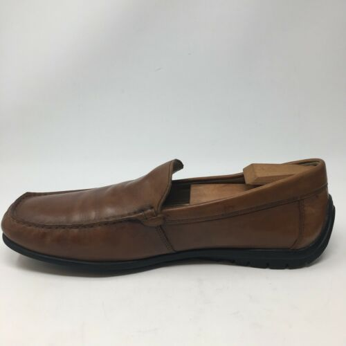 15 marrone 5 in Extra Casual Ecco pelle On 11 uomo Wide Slip 45 Driving Mocassini Us S7OOw0qp