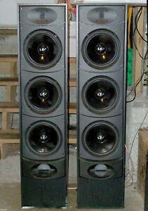 ONE-PAIR-WHARFEDALE-VALDUS-500-TOWER-LOUD-SPEAKERS-200W-EACH-43-034-TALL