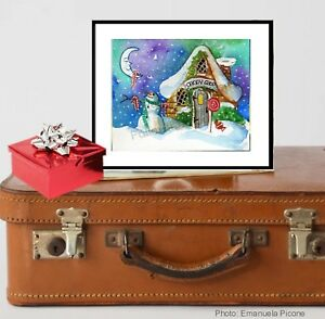 Candy-Cane-Snowman-Candy-Shop-Snowman-Christmas-Holiday-Wall-Art