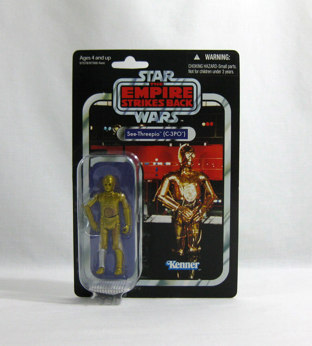 NEW 2010 Star Wars ✧ C-3PO ✧ Vintage Collection VC06 MOC