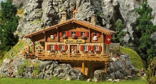 Faller h0 130329-hochgebirgshütte Moser-cabaña kit Artículo nuevo