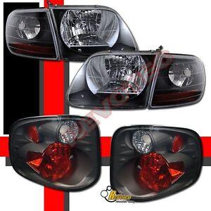 ford f 150 f150 svt supercrew harley davidson headlights tail lights. Black Bedroom Furniture Sets. Home Design Ideas